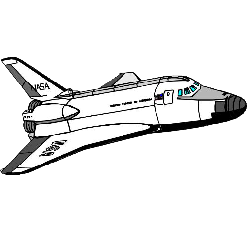 Challenger drawing line. Space shuttle disaster program