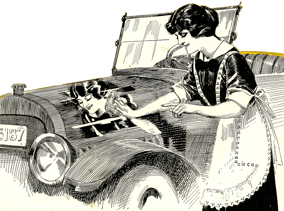 Chamois drawing vintage. How to best wash