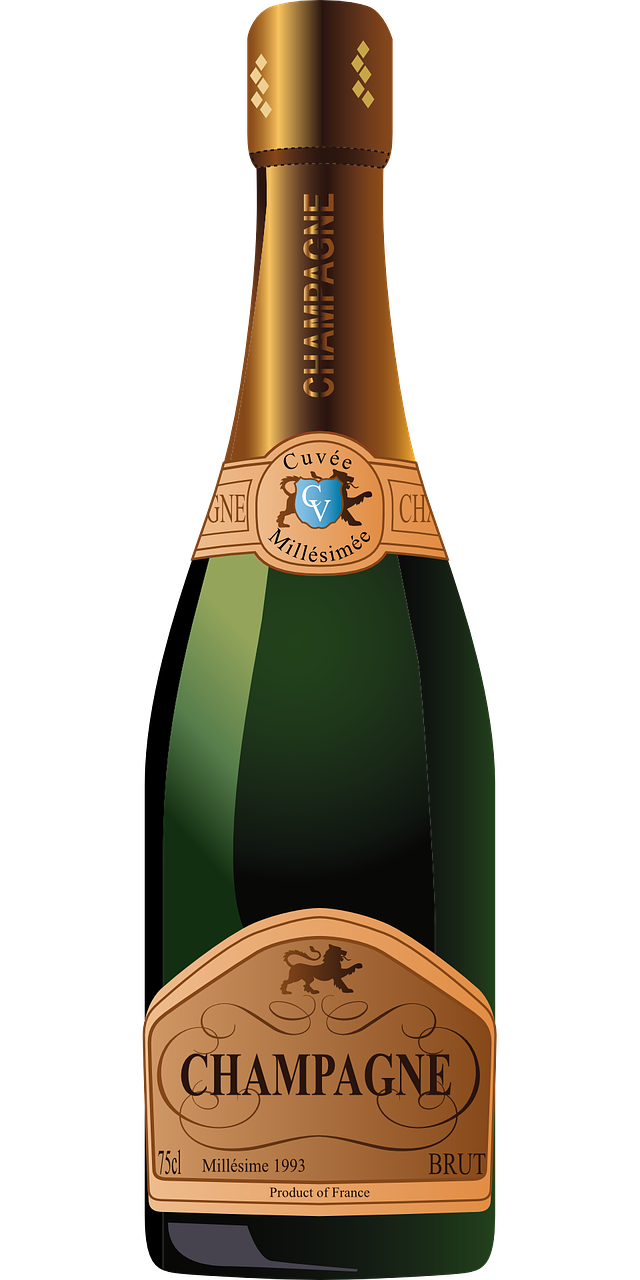 Champagne bottle clipart png. Collection of high