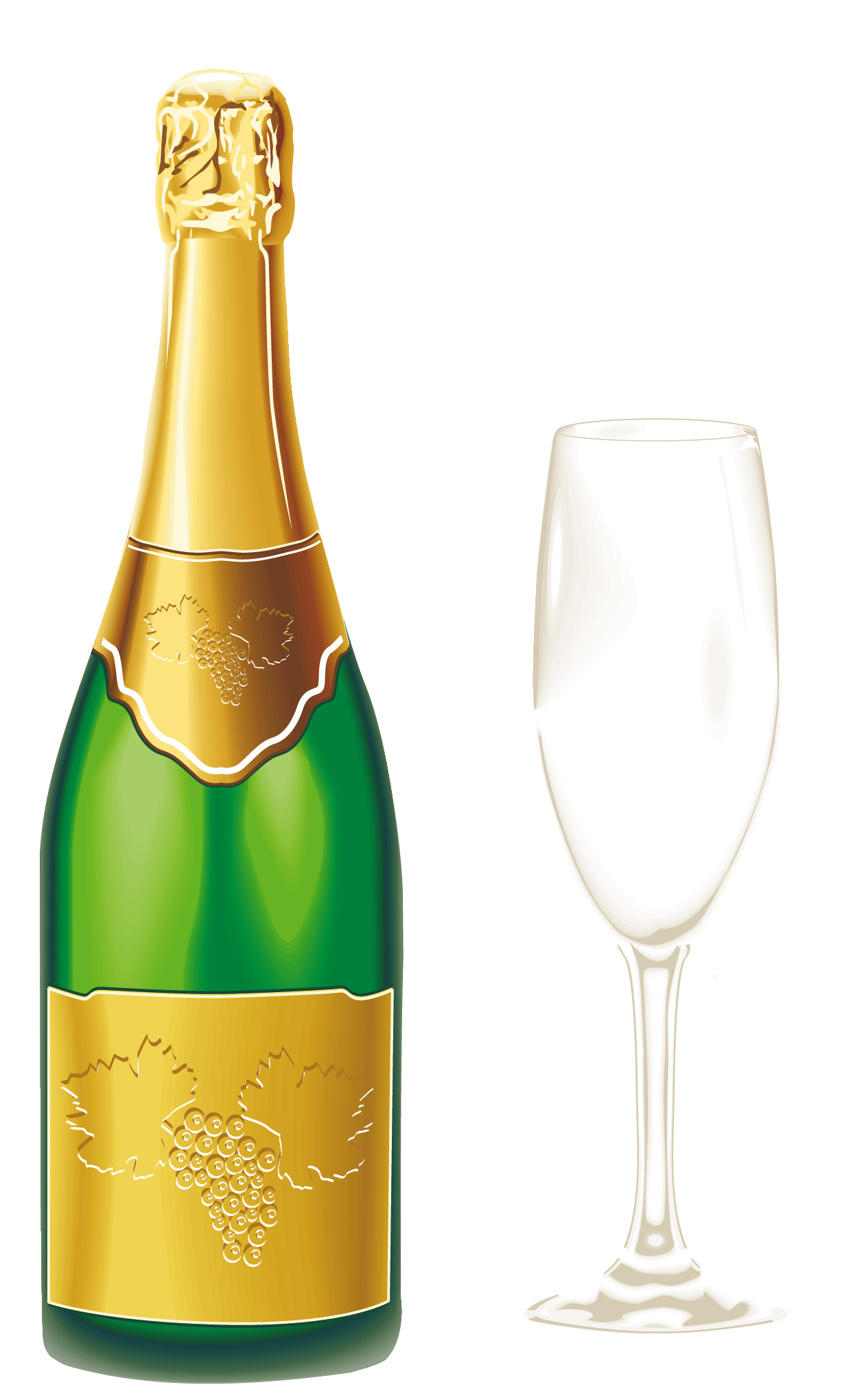 Champagne cartoon png. With glass clipart gallery