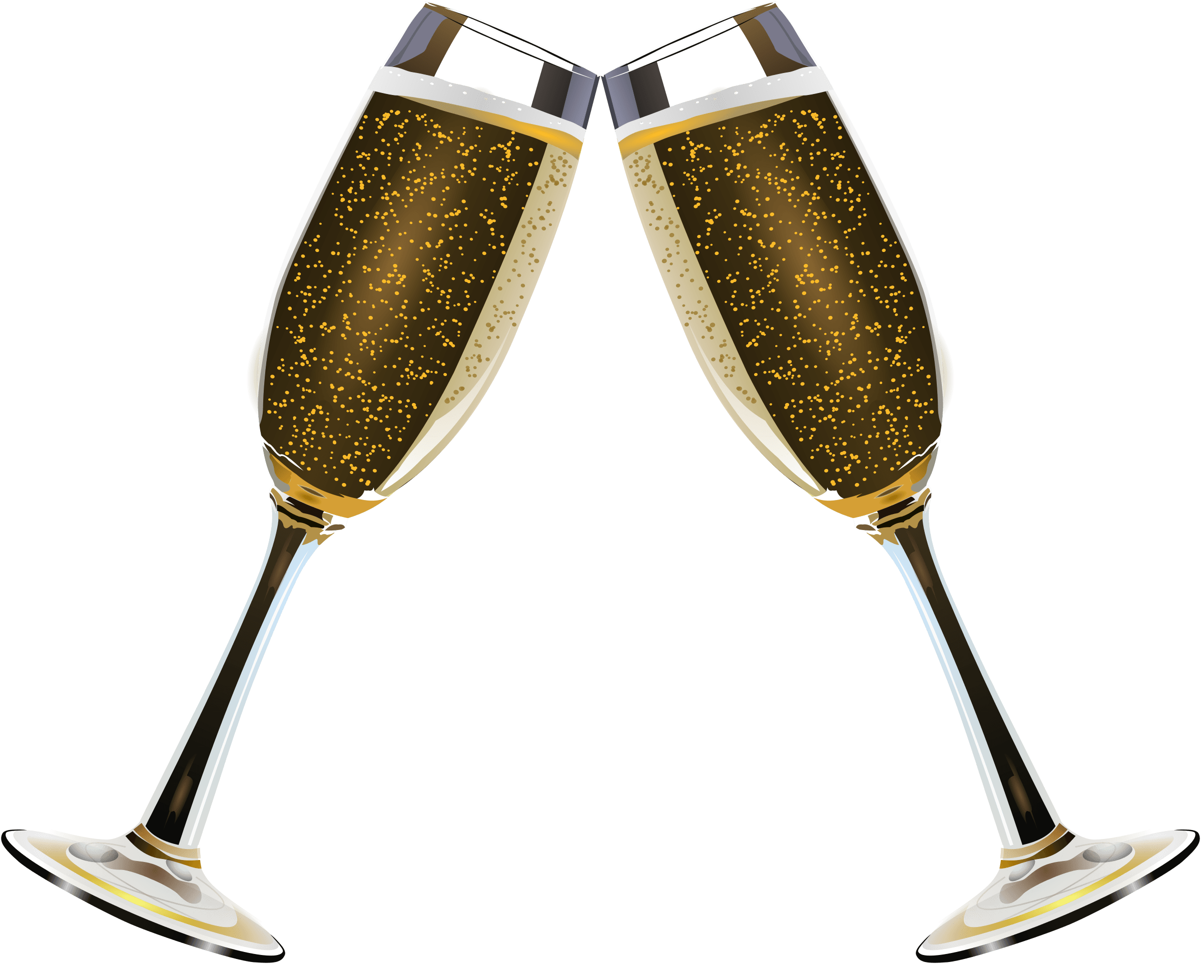 Champagne clipart champagne bubble. Glass of bubbles transparent