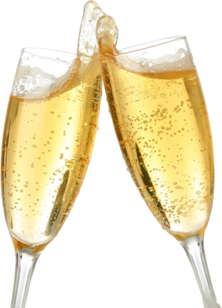 Champagne glasses toast png. Wine glass psd official
