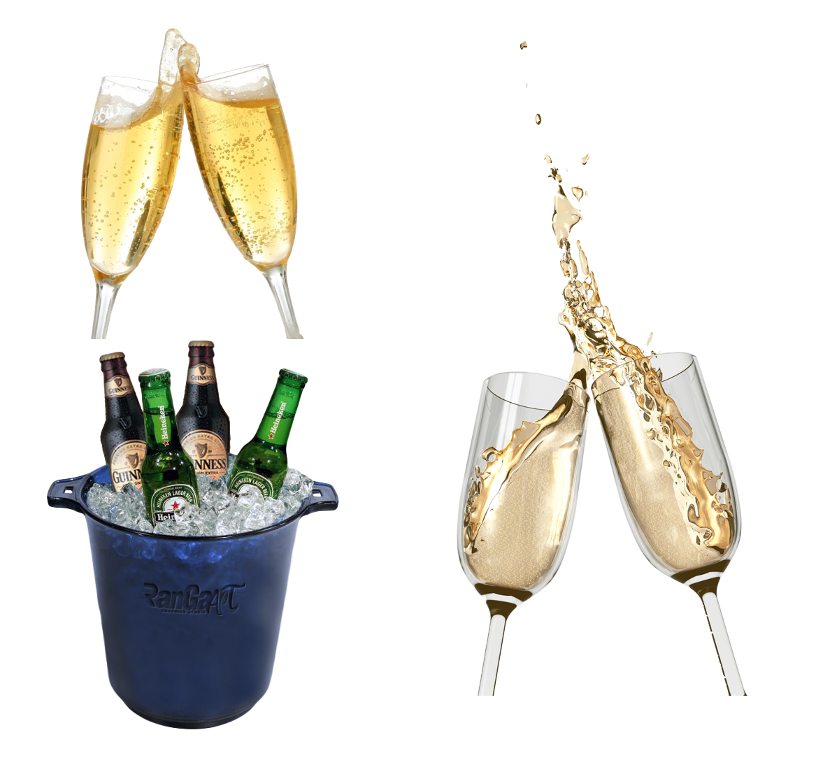Champagne toast png. Sparkling wine rosxe beer