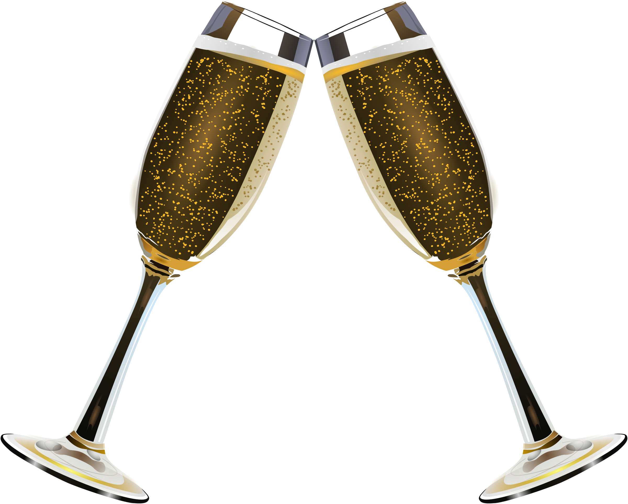 Champagne toast png. Transparent images all