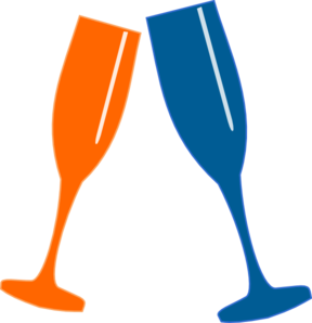 cheers clipart red