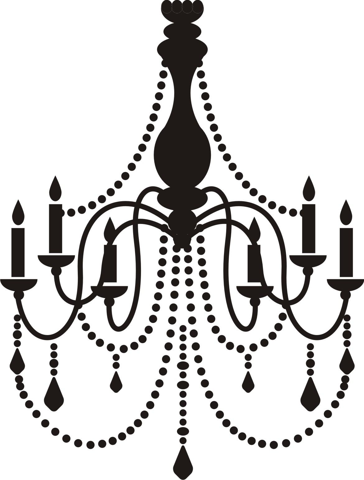 Free cliparts download clip. Chandelier clipart svg transparent download