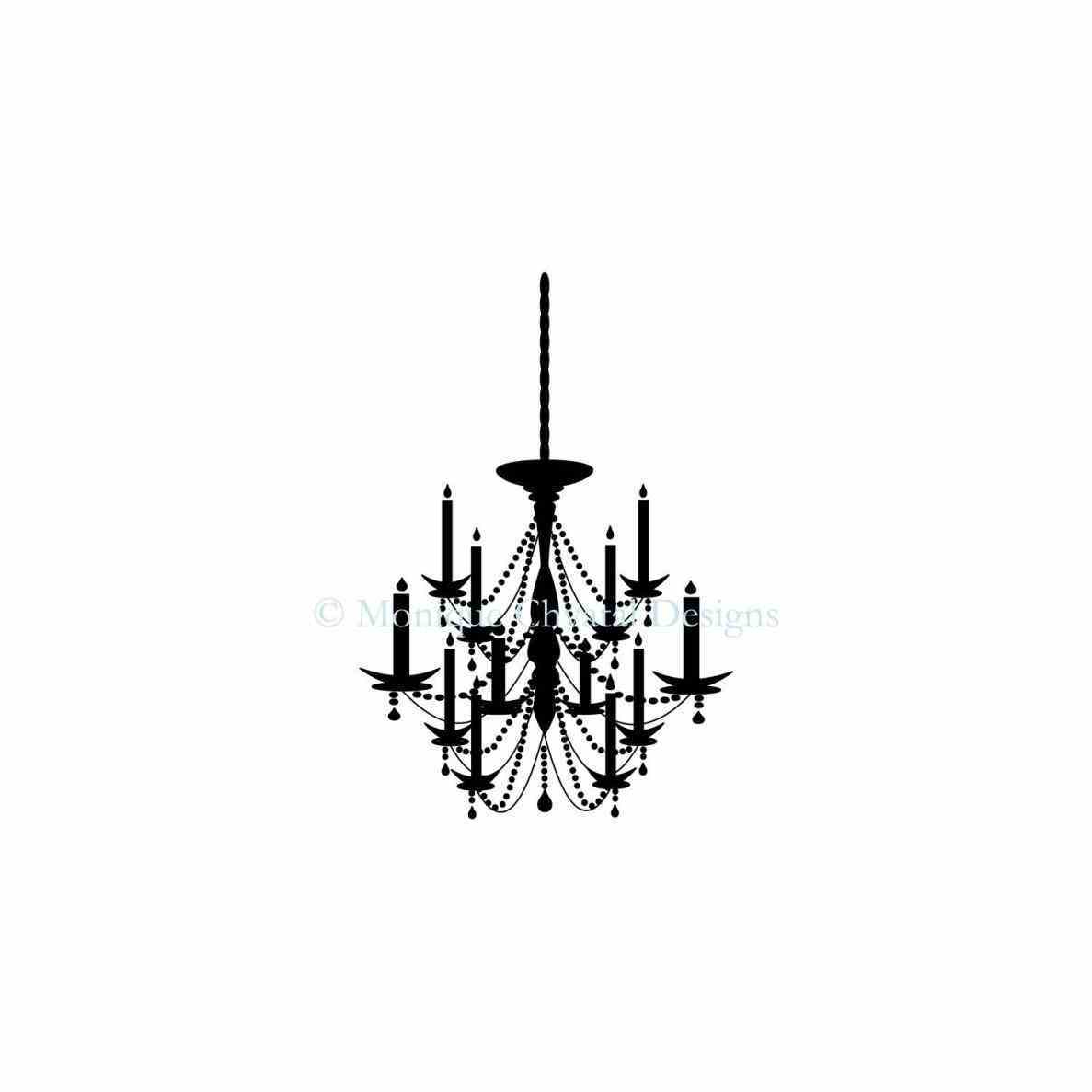 Chandelier clipart ceiling light. Free vector