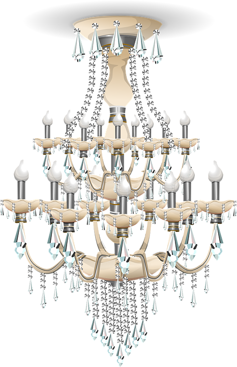 Chandelier clipart png. Download free hanging dlpng