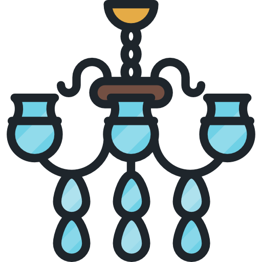 Chandelier clipart png. Icon svg