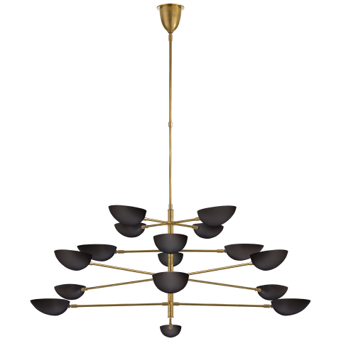 Chandelier graphic png. Grande four tier circa