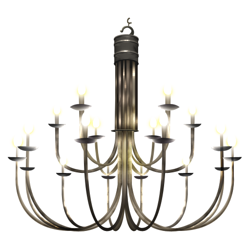 Chandelier icon png. Vintage clipart image iconbug