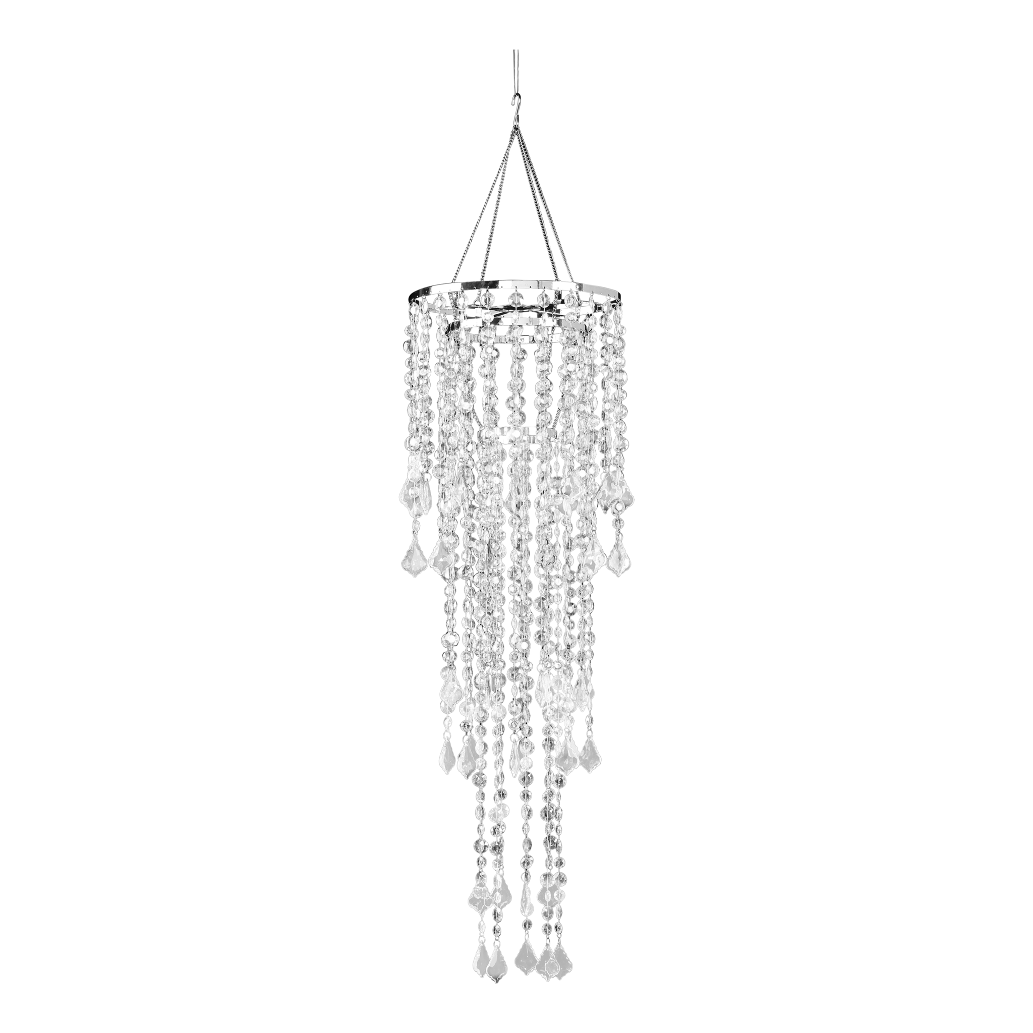 Icicle multi diamond crystal. Chandelier png clip