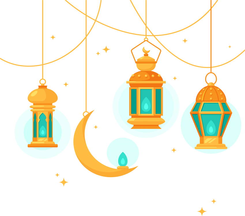 Chandelier vector png free. Islamic style images toppng