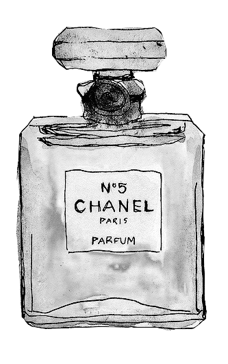 Chanel drawing. Pin by h k