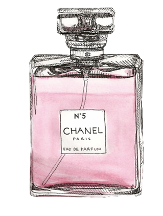 Chanel drawing. For the love of