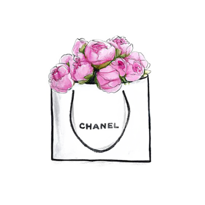 Chanel drawing floral. Flower bouquet png dlpng