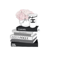 Chanel drawing flower. Download free png icon