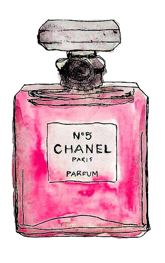 Chanel drawing coco mademoiselle. N famous is a