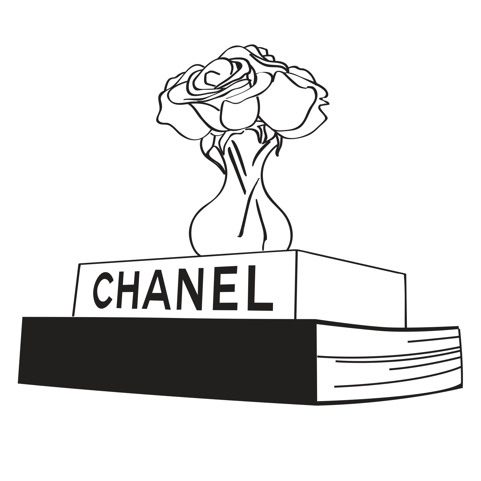 Chanel drawing store. Sev laser calabasas
