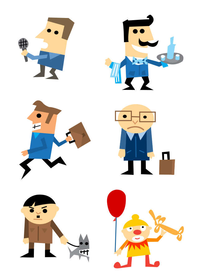 Change clipart. Character
