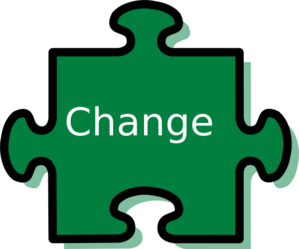 Change vector ahead. Clipart