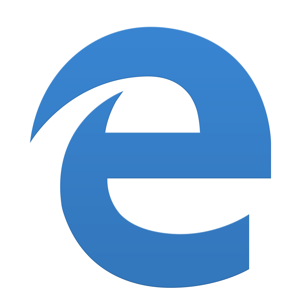 Change icon windows 10 png. Microsoft edge by dtafalonso