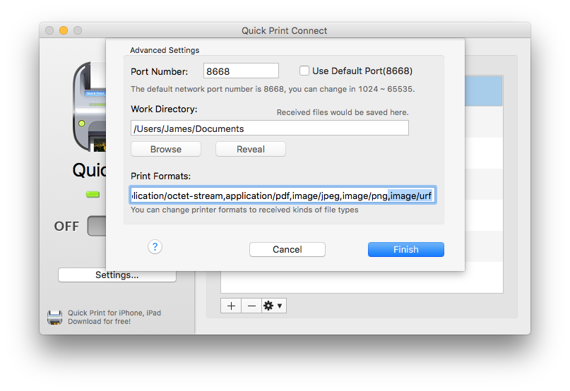 Change jpeg to png format. Support ipdfapps software essential