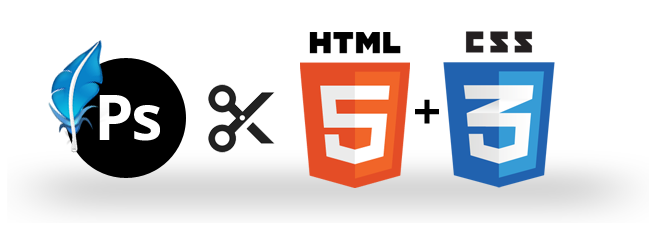 How to convert gif to png. Psd html css in