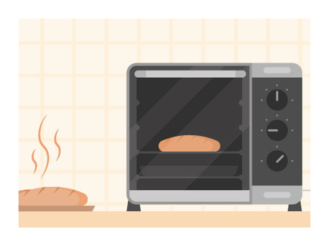 oven vector baking tool free