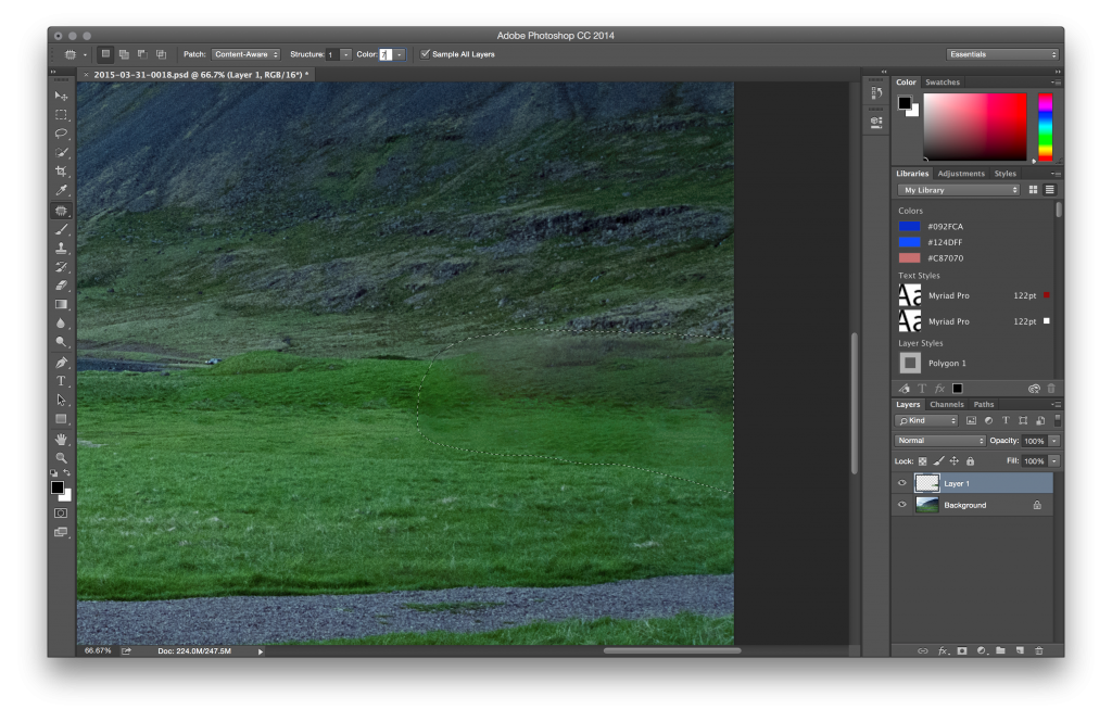 Change the color of a png in photoshop. Creativefriday cc s content