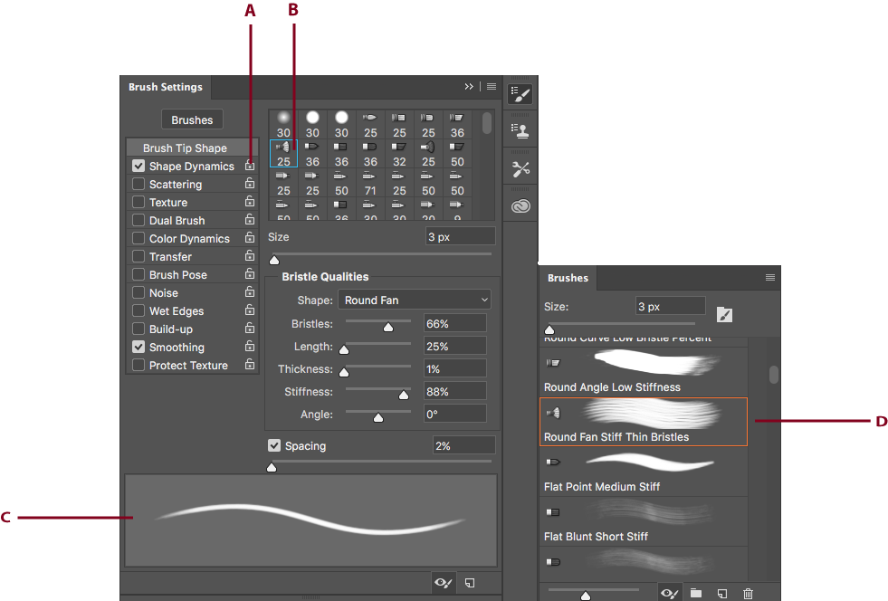 Change the color of a png in photoshop. Create and modify brushes