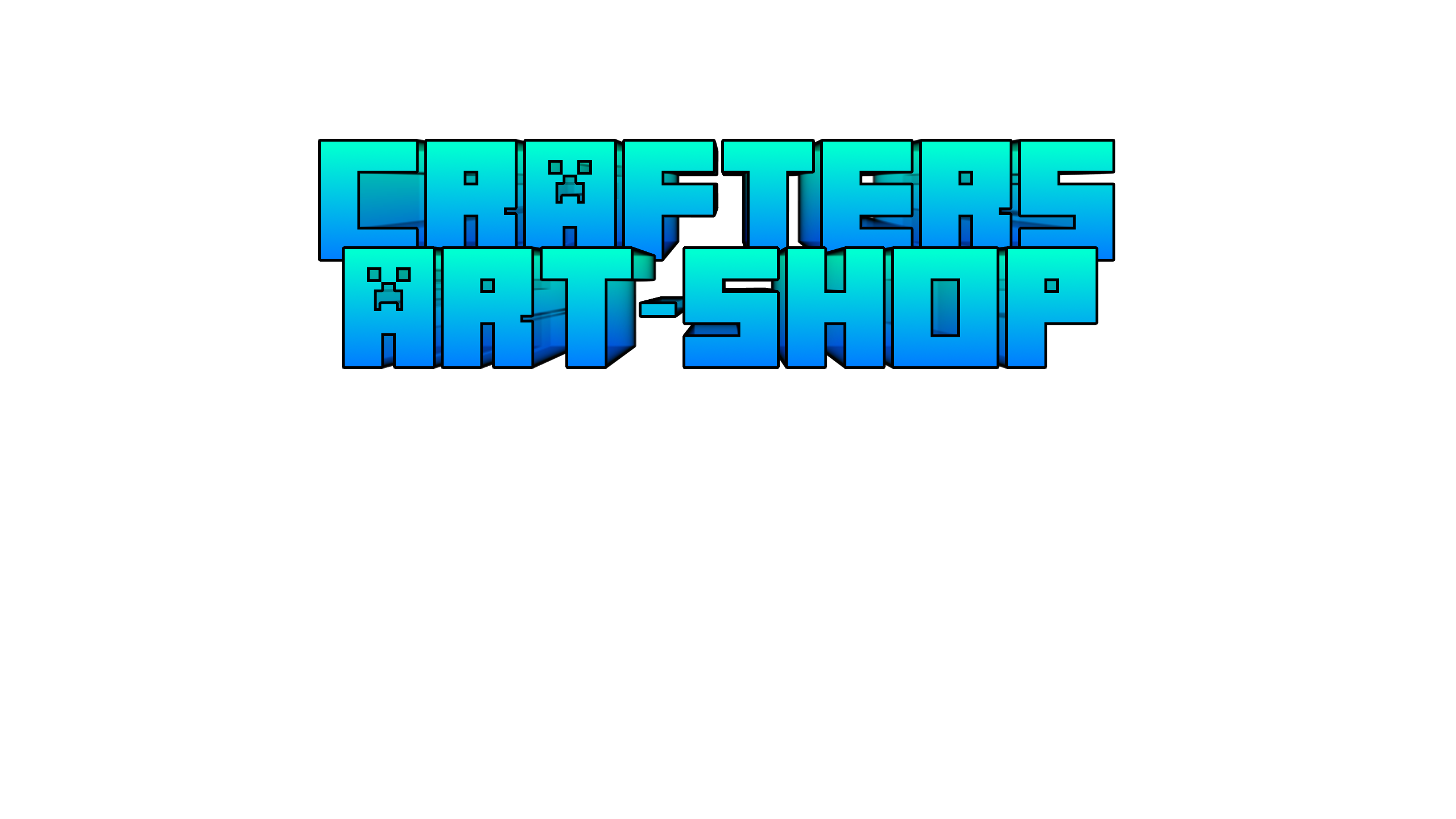 Channel art png. Crafter s awesome shop