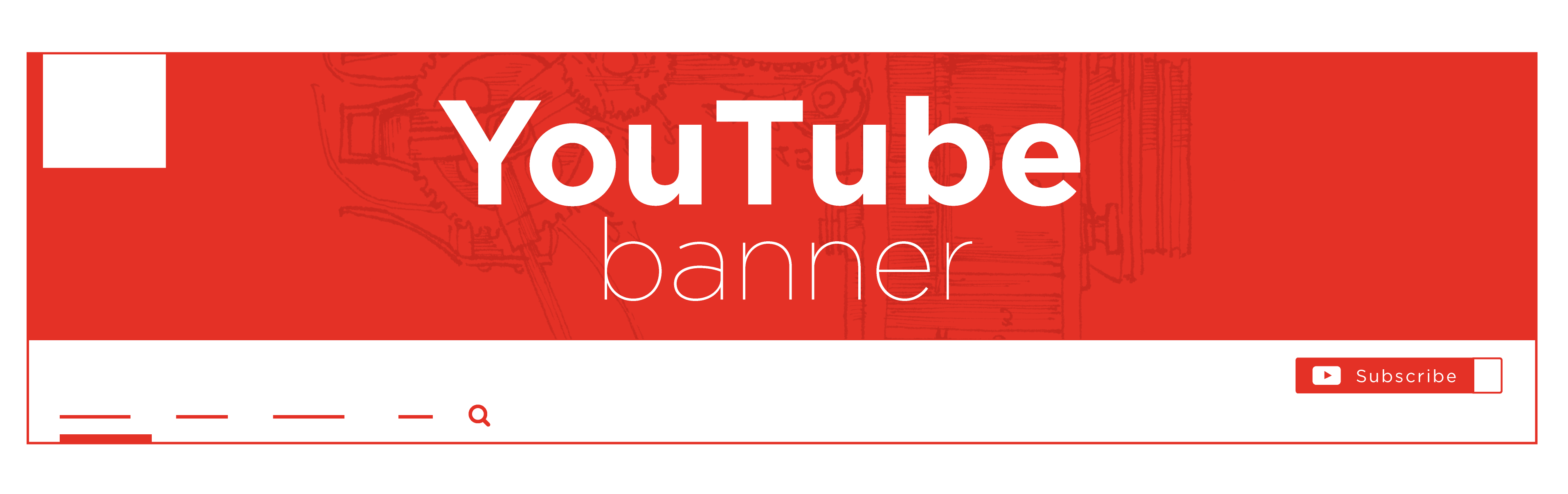 Channel art png. Youtube banner best practices