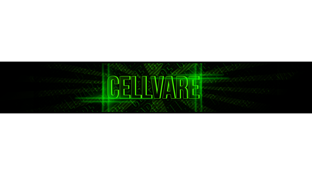 Channel art png. Cellvare youtube by cell