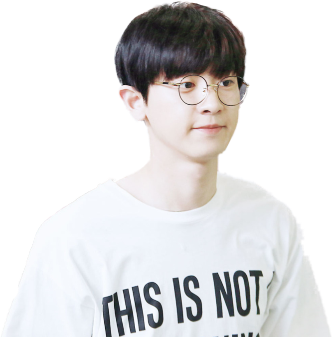 Chanyeol transparent sticker. Exo png by b