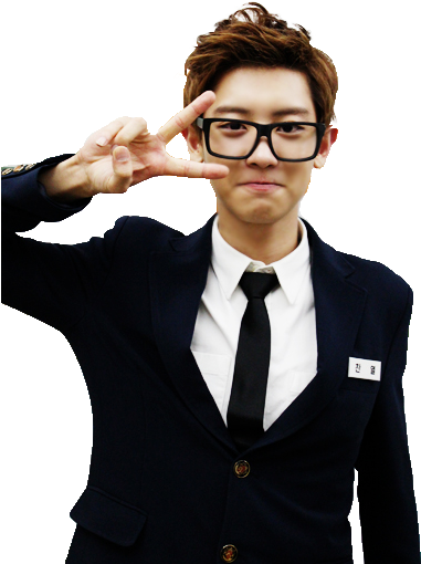 Chanyeol transparent forehead. Download royalty free exo