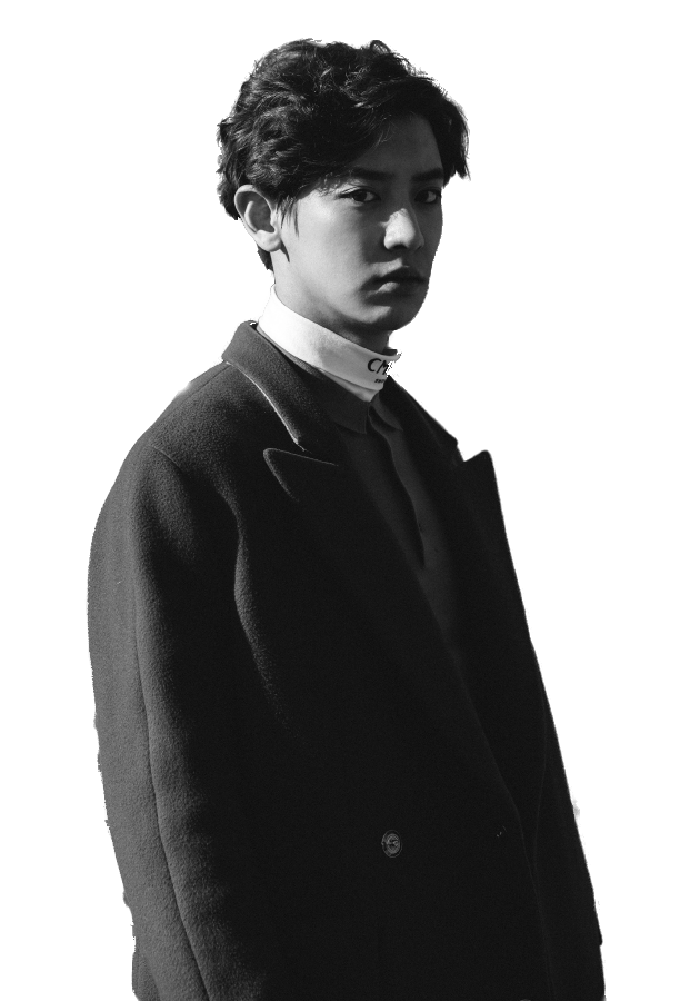 Chanyeol transparent black. Png exo by ruby