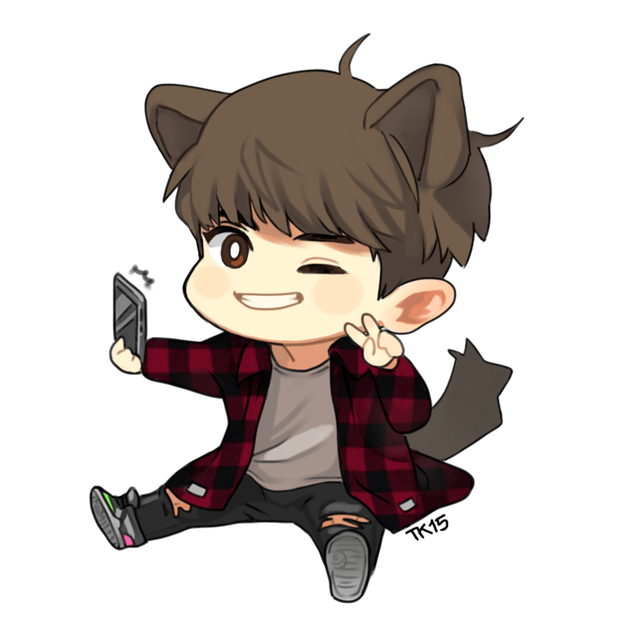 Chanyeol transparent chibi. Yeol by tanukai on