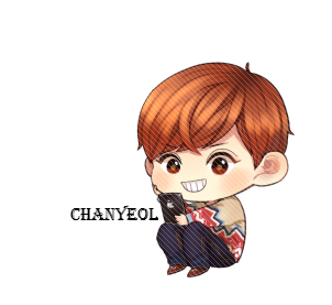 Chanyeol transparent chibi. Exo google pinterest