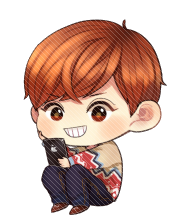 Chanyeol transparent chibi. Exo png by yoonyulhyo