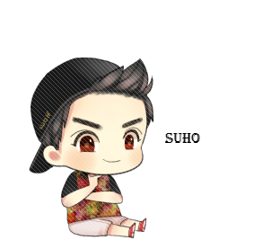 Chanyeol transparent chibi. Png image
