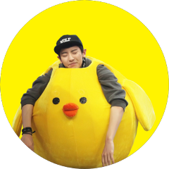 Chanyeol transparent chicken. The newest stickers on