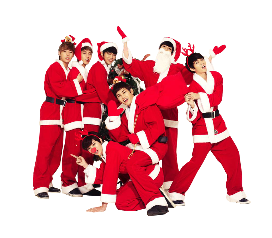 Chanyeol transparent christmas. Render infinite merry by