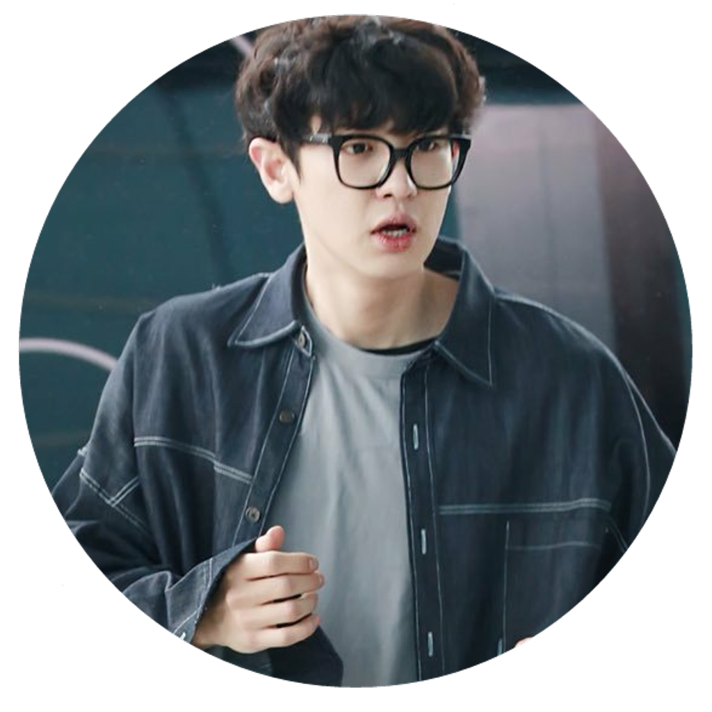 Chanyeol transparent circle. Exo sticker by isabel