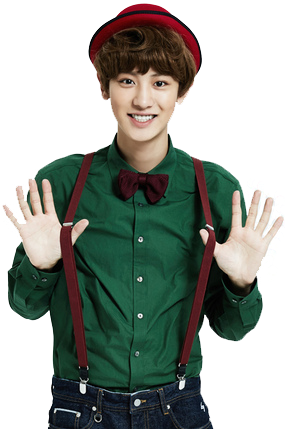 Chanyeol transparent costume. Mid png by exoxoxo
