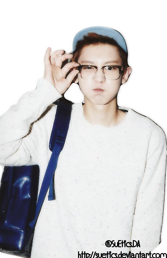 Chanyeol transparent forehead. Png exo by su