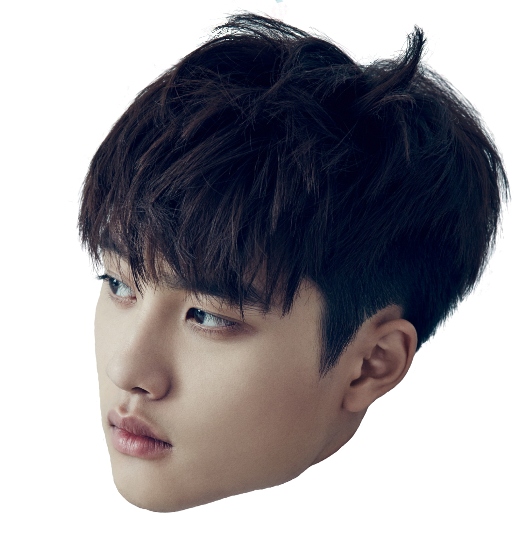 Chanyeol transparent head. Daily reminder yoongi is
