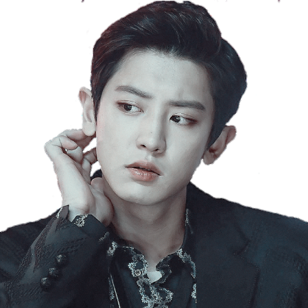 Chanyeol transparent overlay. Png shared by sunna