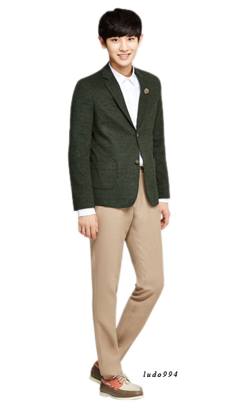 chanyeol transparent tuxedo