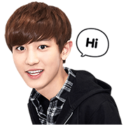 Chanyeol transparent sticker. Exo special line rumors